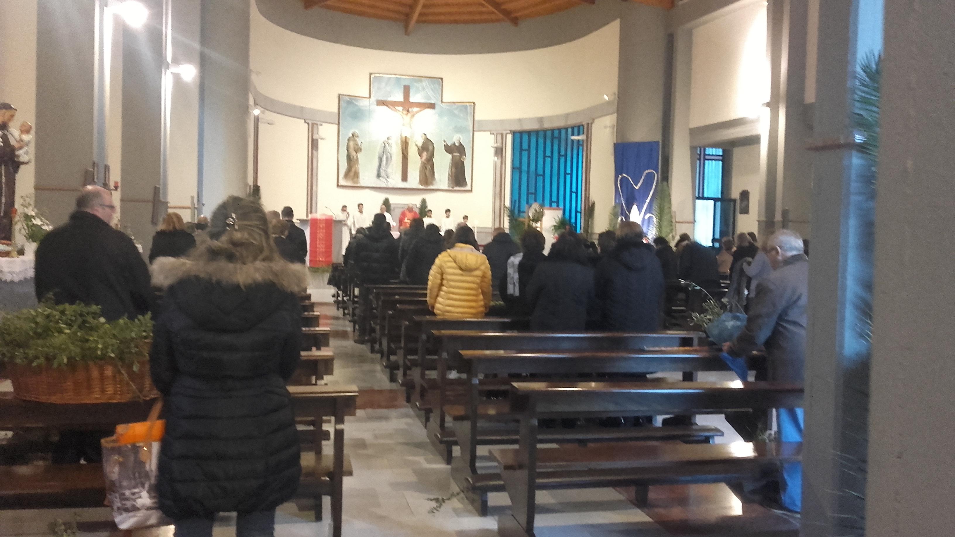 La settimana Santa della parrocchia S. Antonio da Padova