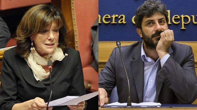 Camere: Regge l'accordo Centro Destra-M5S, Casellati e Fico eletti presidenti