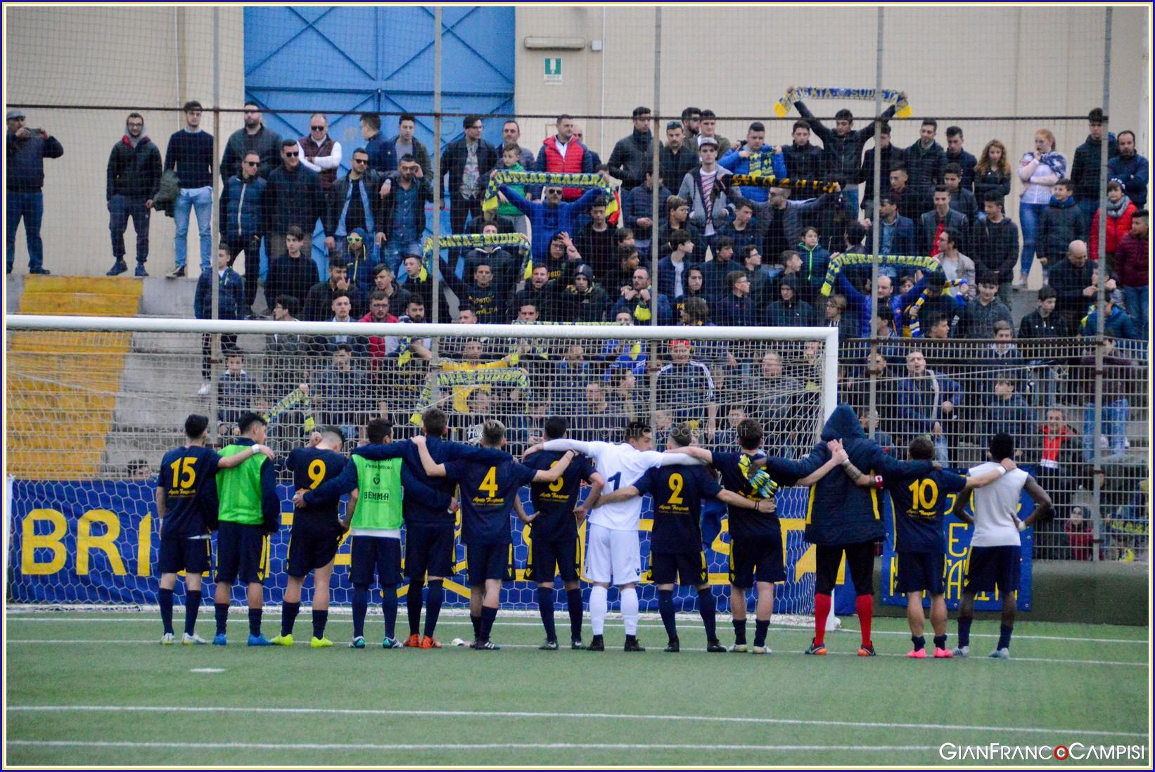 Mazara-Licata 0-3, gara condizionata dalle decisioni arbitrali