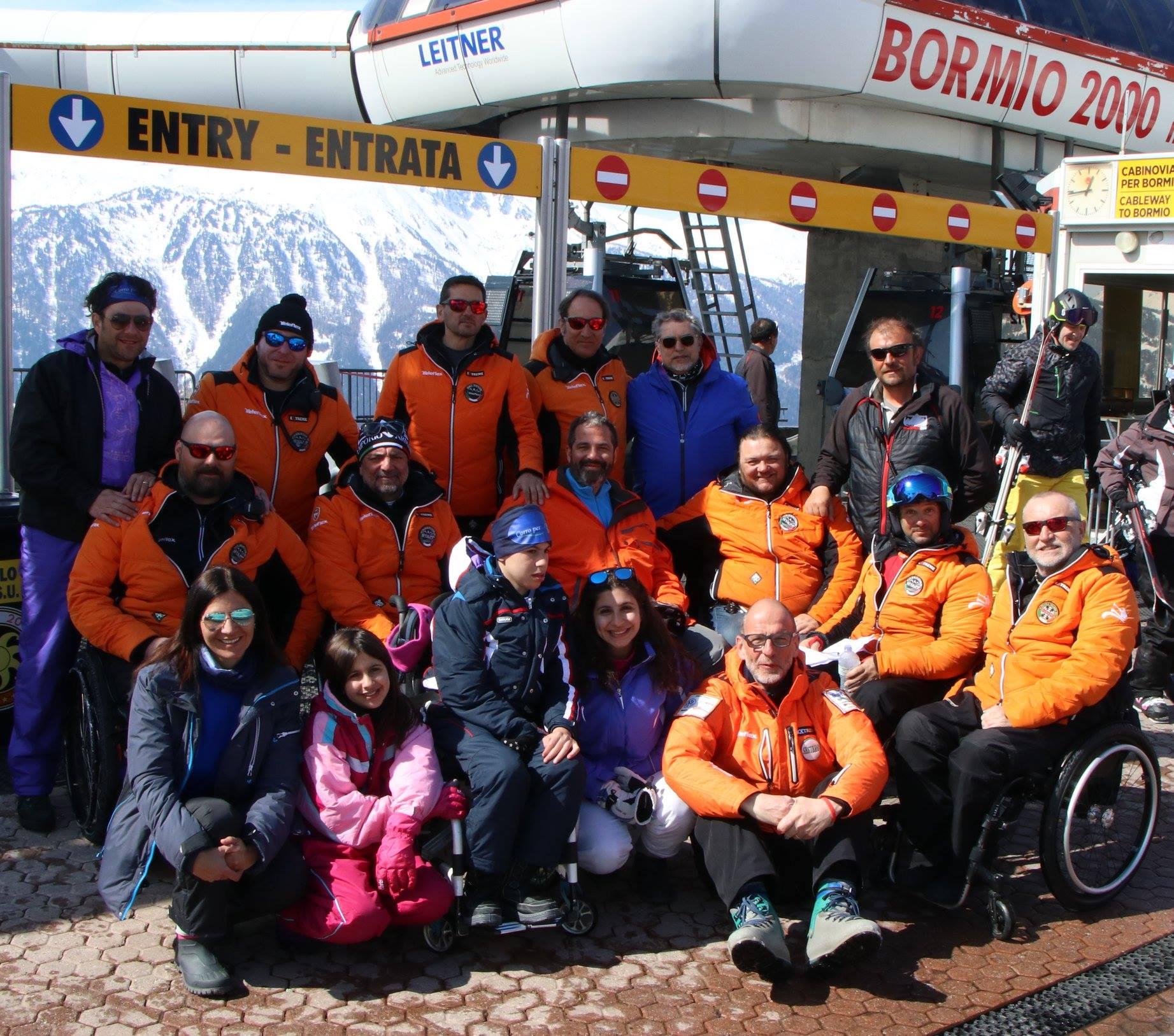 Daniele Pomilia presente allo Ski Tour Freerider Sport Events Bormio 22-25 Marzo 2018