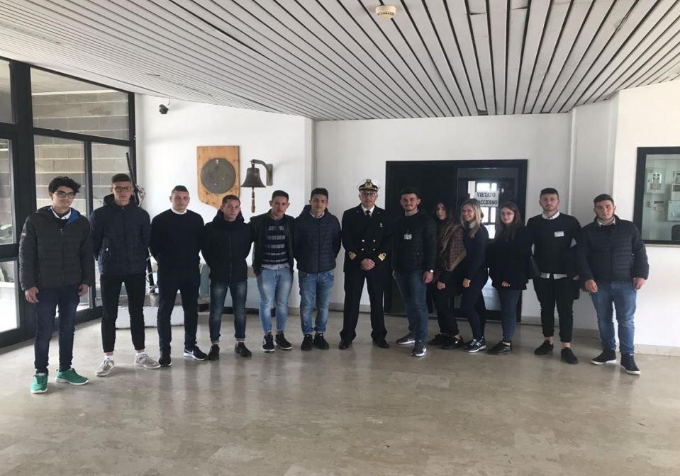 Alternanza Scuola-Lavoro presso la Capitaneria di Porto di Mazara