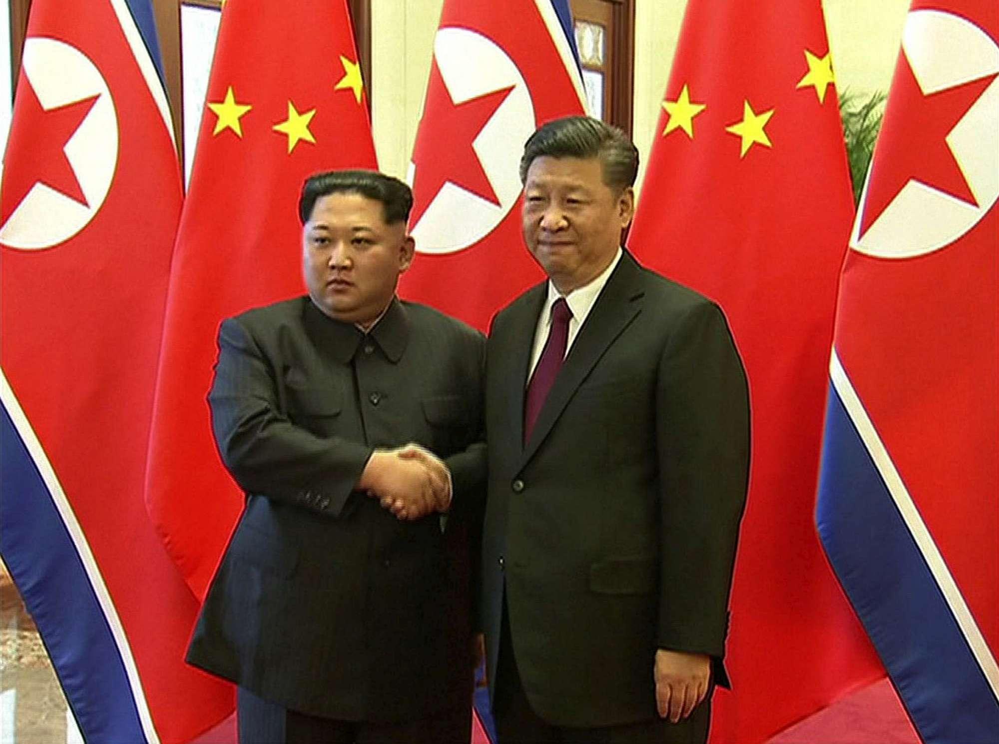 Corea del Nord, Kim Jong-un in Cina: