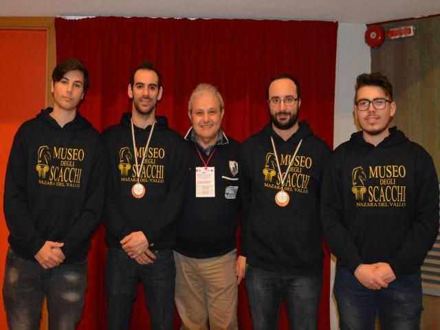 Lo Scacco Club Mazara promosso in Serie C
