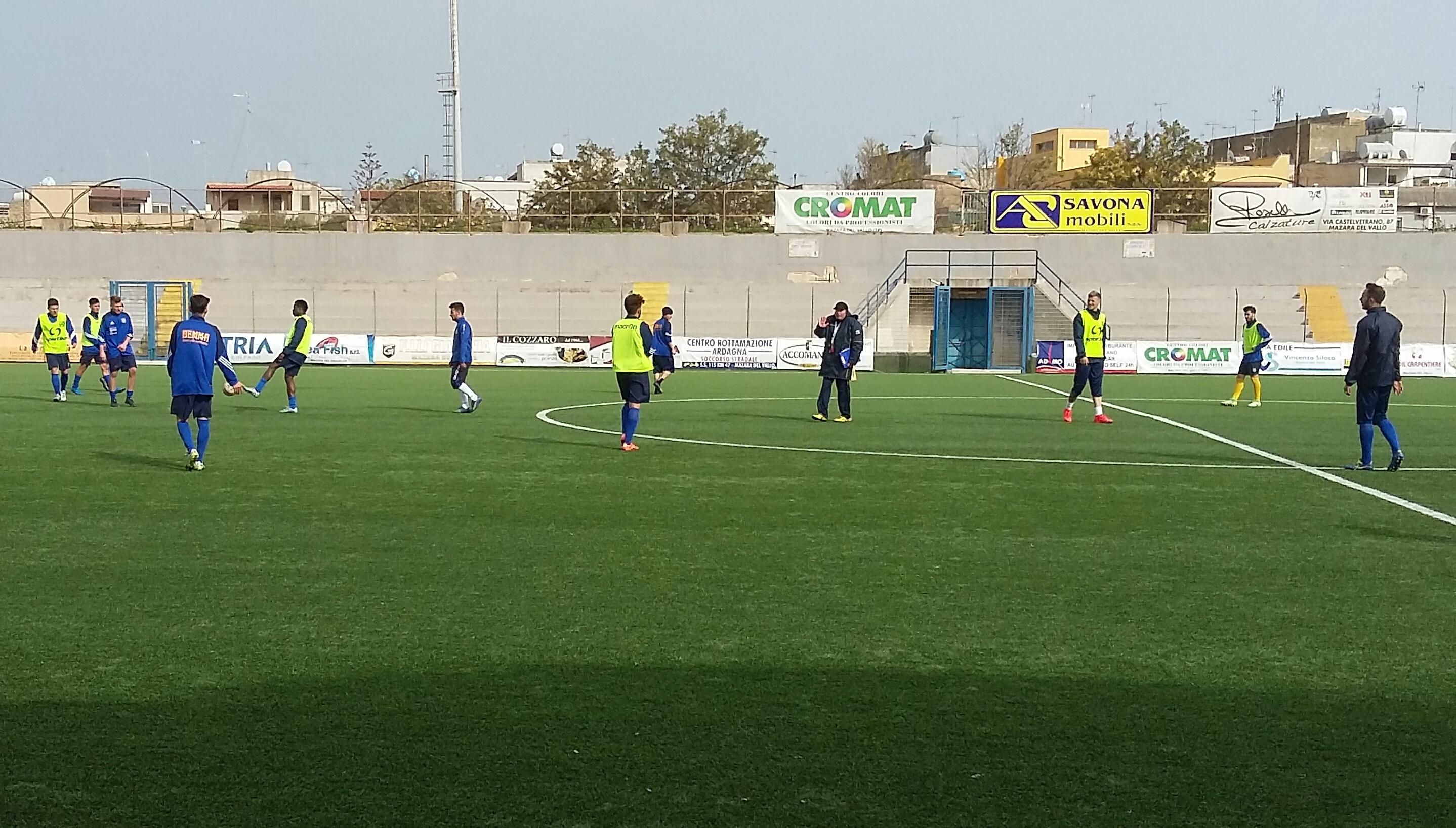 Il Mazara ha ripreso gli allenamenti in vista della trasferta di domenica a Mussomeli