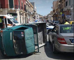 Mazara, incidente stradale con due feriti