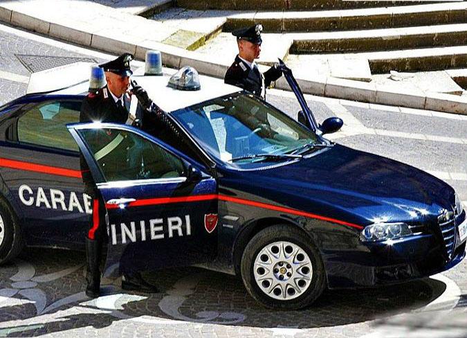 Marsala: un arresto dei carabinieri per furto