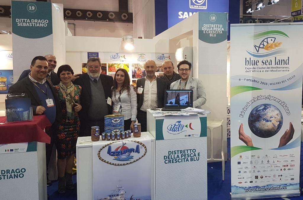 Mazara, Il Distretto della Pesca e Crescita Blu all'Expo Seafood di Bruxelles