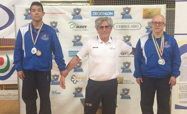 Campionati Italiani di Tennis Tavolo della FISDIR. Ottimi risultati per l'ASD Paralimpica d. Rodolico