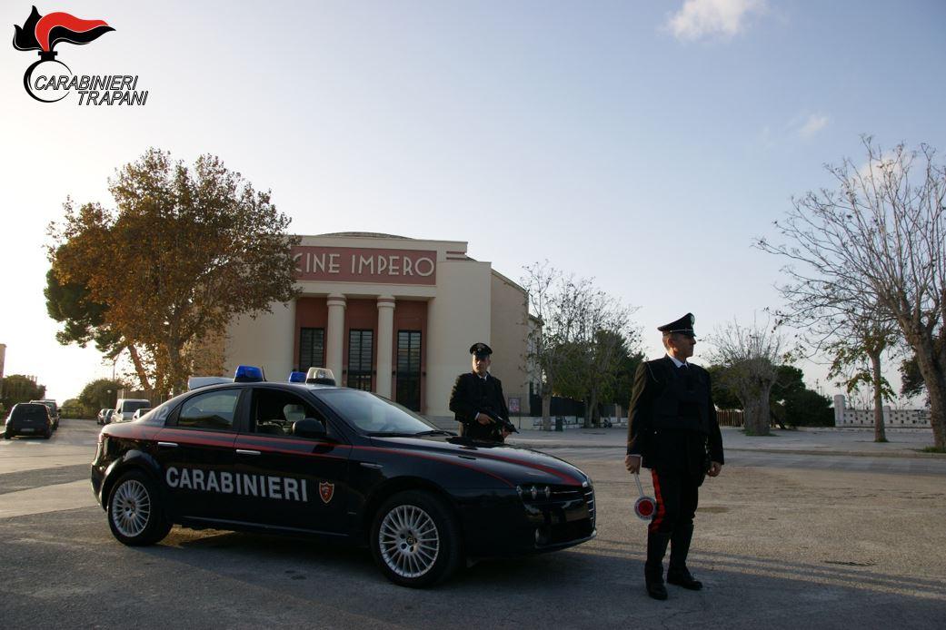 Marsala: controlli straordinari dei carabinieri, otto denunciati