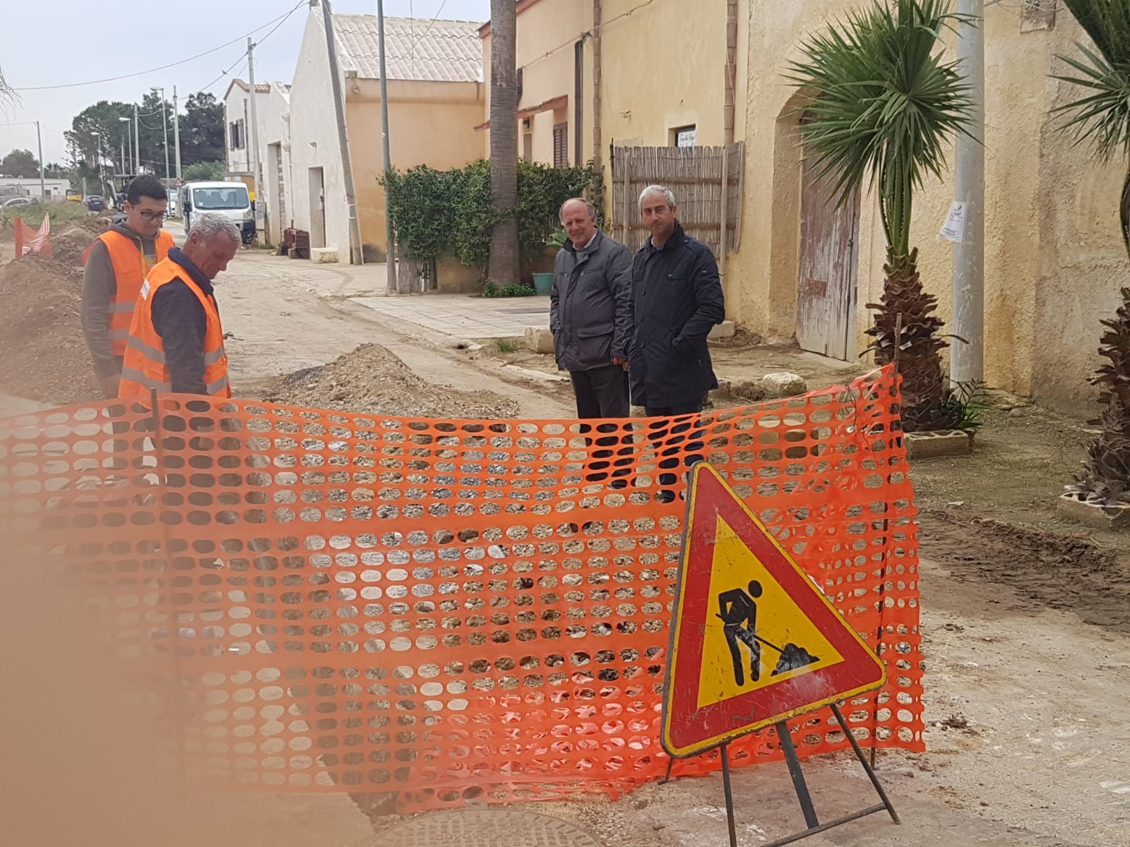 Marsala, iniziati i lavori per il rifacimento della rete idrica in alcune zone del versante nord