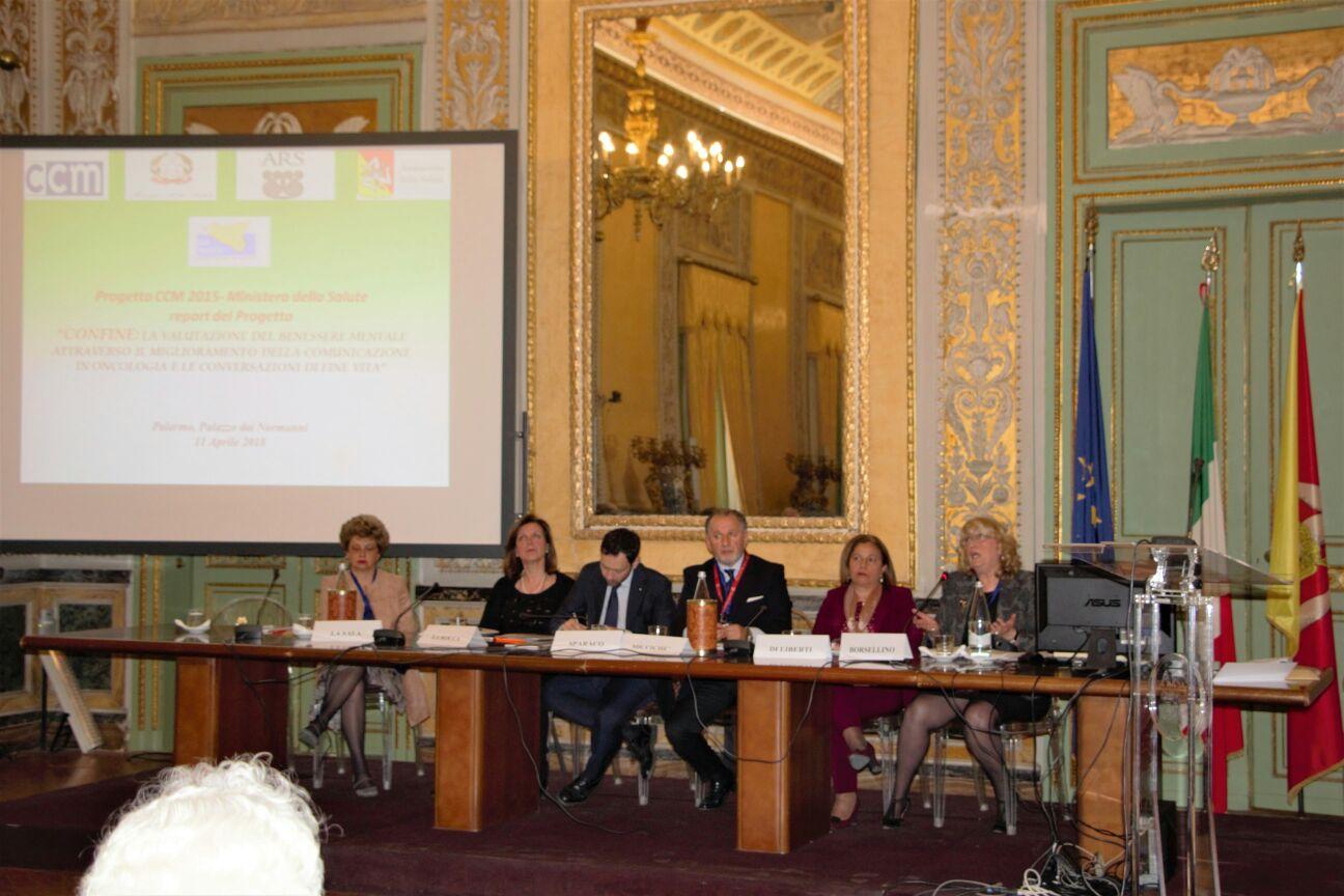 Presentato il report del progetto nazionale su conversazioni di fine vita in oncologia, con capofila l'ASP di Trapani