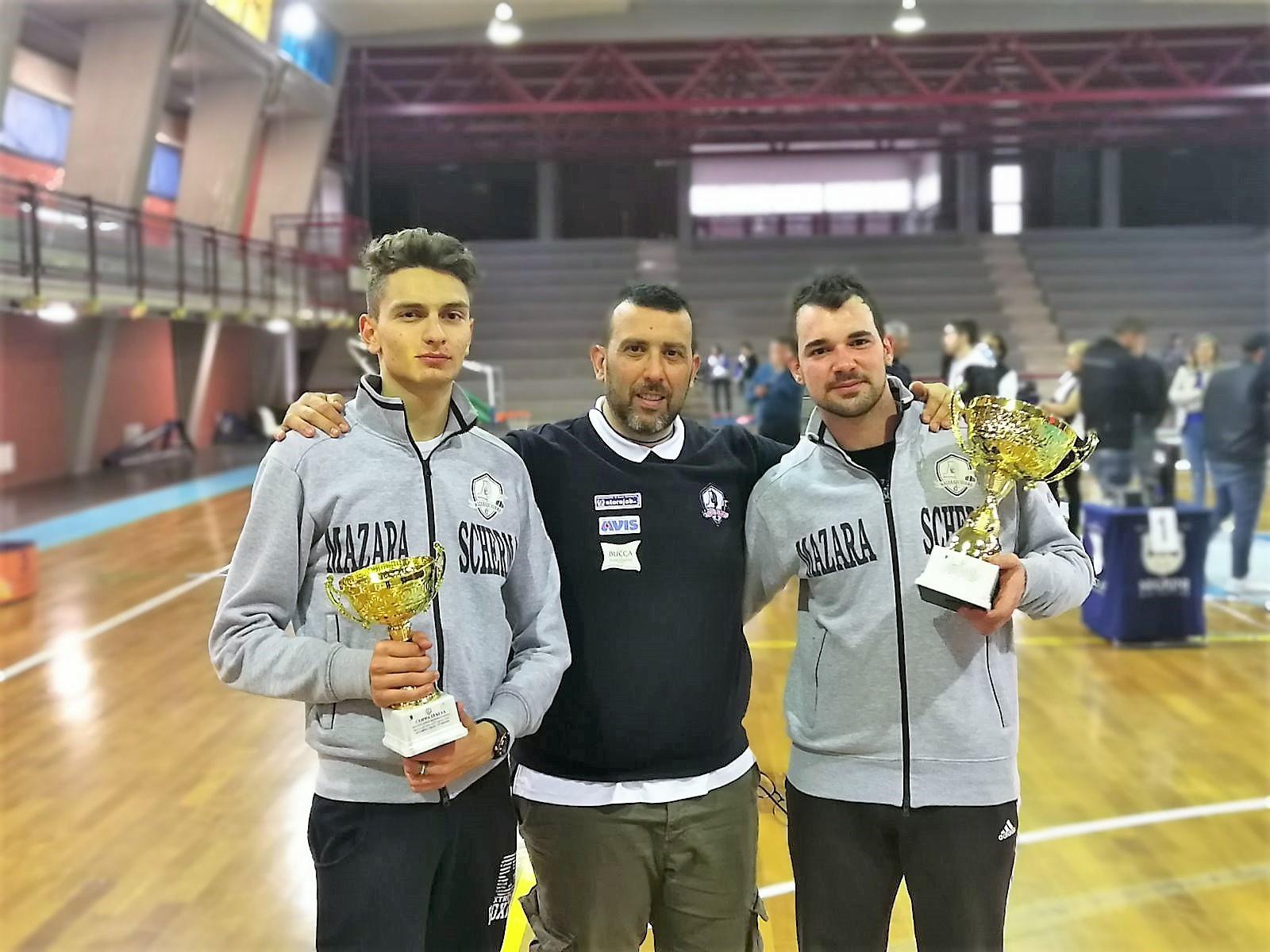 Mazara, Scherma, Coppa Italia qualificazione regione Sicilia. Mustacchia conquista la sua decima coppa Italia, bronzo per Tranchida