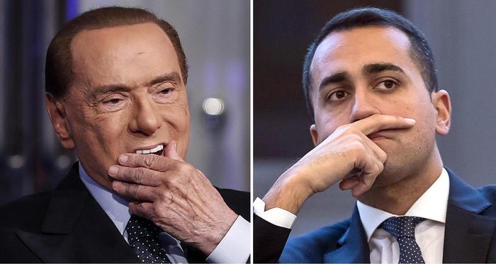 Conflitto di interessi, scontro a distanza Di Maio-Berlusconi