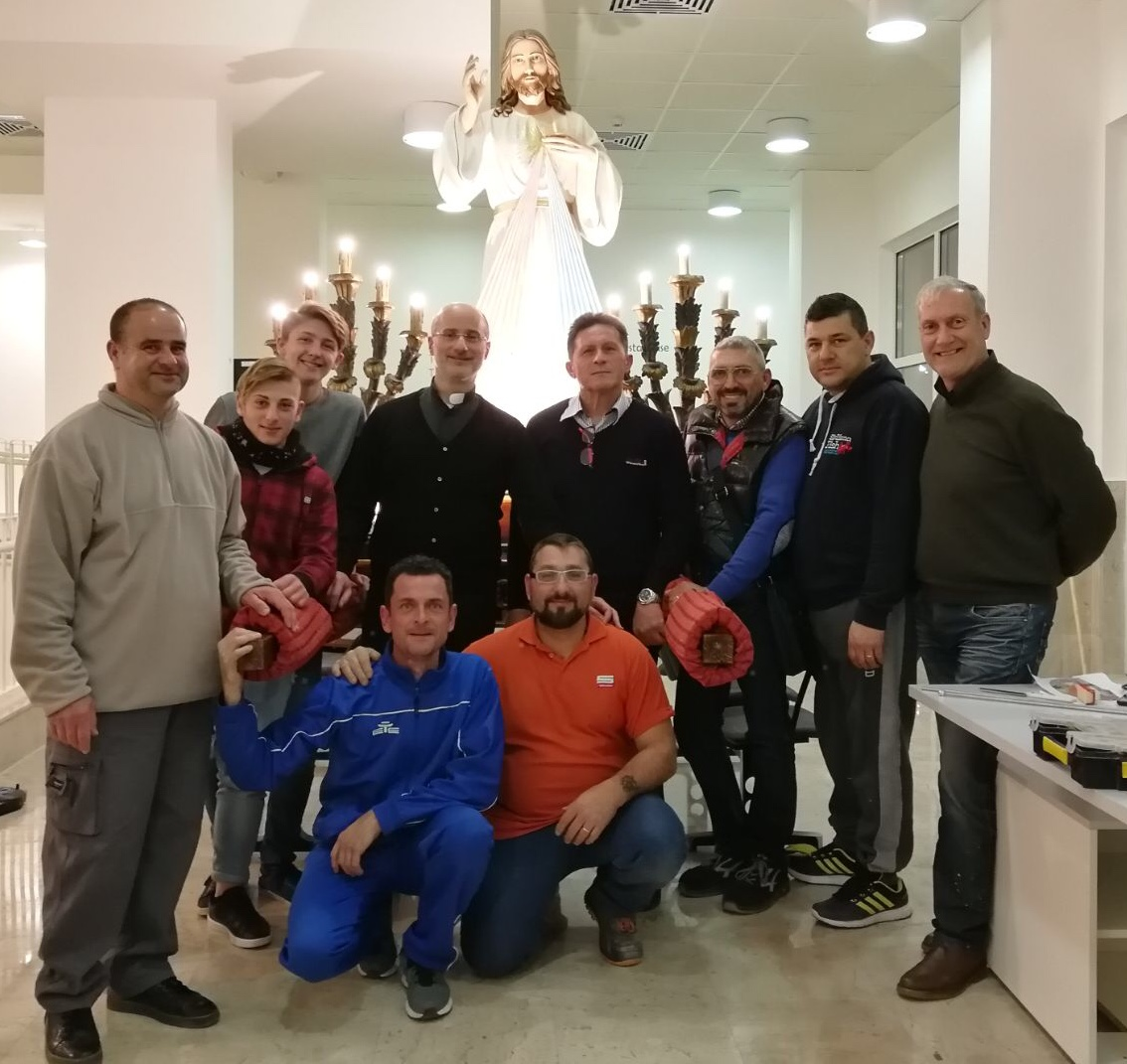 Mazara, cappella ospedale, iniziati i festeggiamenti in onore di Gesù misericordioso