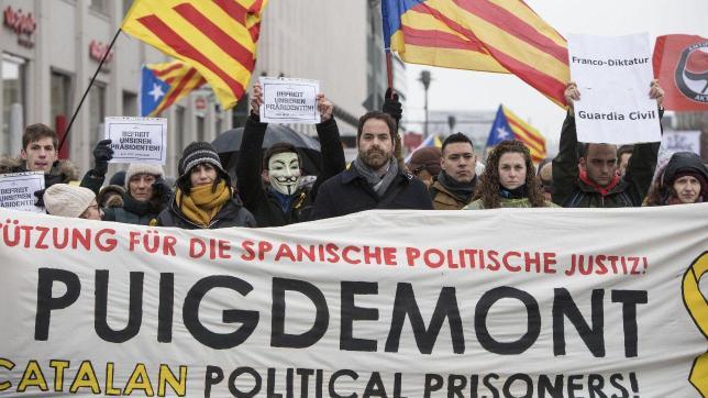 Catalogna, manifestazione a Berlino: