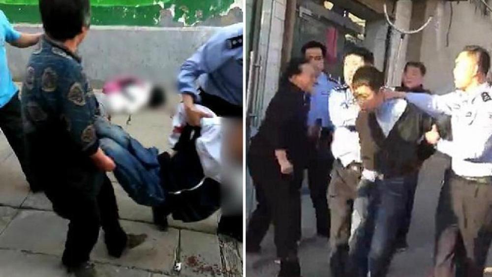 Uomo armato di coltello uccide 7 studenti delle medie e ne ferisce 19