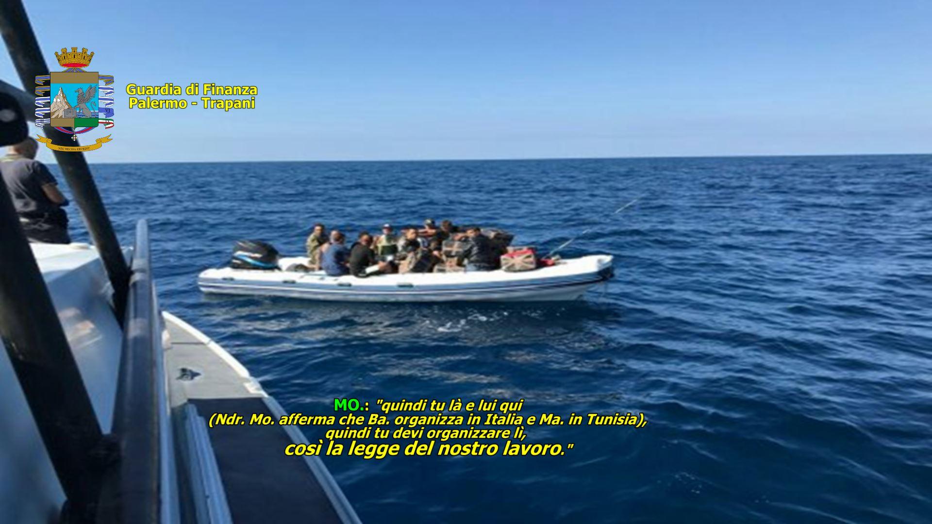 """OPERAZIONE """"SCORPION FISH 2"""". Smantellata organizzazione criminale Italo-Tunisina. In corso d'esecuzione 13 arresti e perquisizioni a Mazara, Marsala e Palermo"""