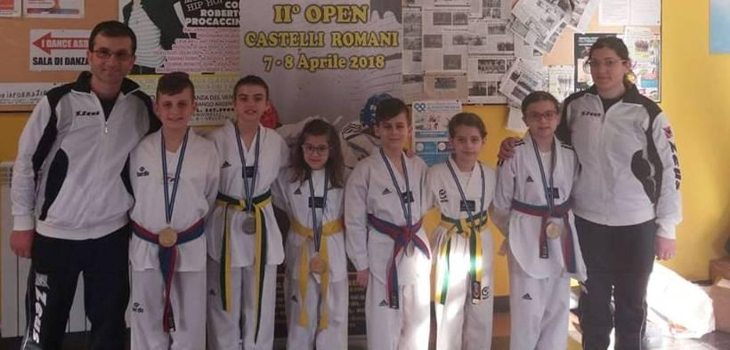 Mazara, Fighter Taekwondo: conquistati sei podi all'Open Castelli Romani di Velletri