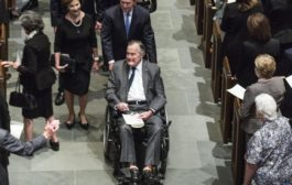 George Bush senior in terapia intensiva