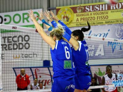 Volley, la Sigel Marsala perde a Soverato e retrocede