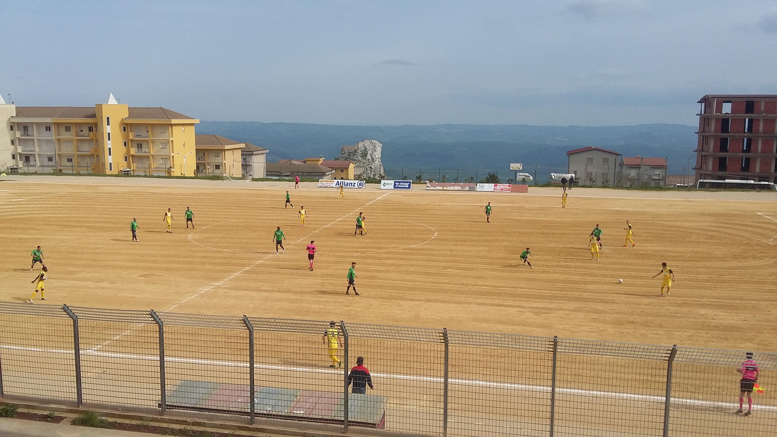 MUSSOMELI – MAZARA 3-0 (Il Tabellino)