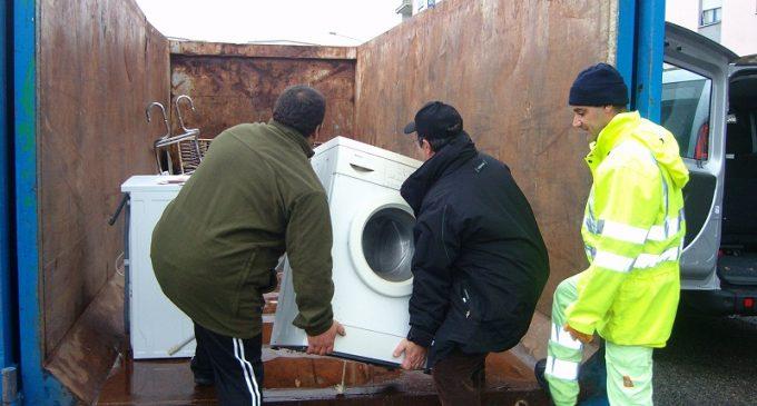 Mazara, deposito sfalci potatura e rifiuti ingombranti