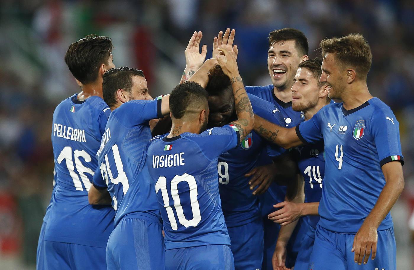 Amichevoli: Italia-Arabia Saudita 2-1, ci pensano Balotelli e Belotti