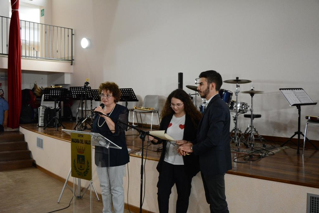 Mazara, a Roberta Margiotta la Prima Borsa di Studio