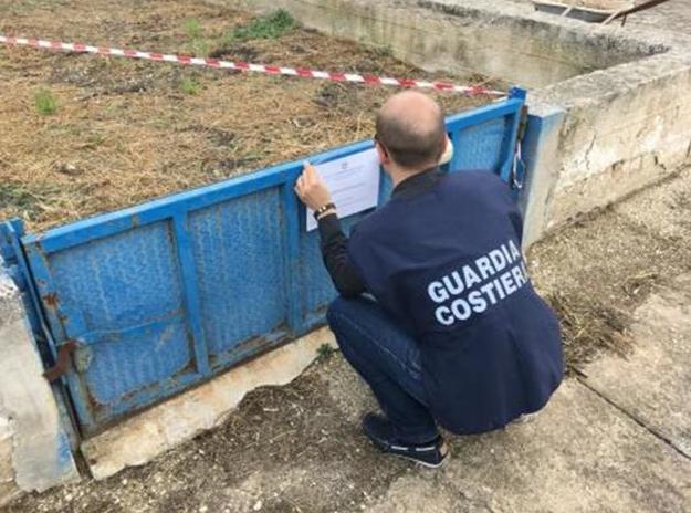 Gestione illecita di rifiuti: sequestro all'interno di un depuratore di Salaparuta