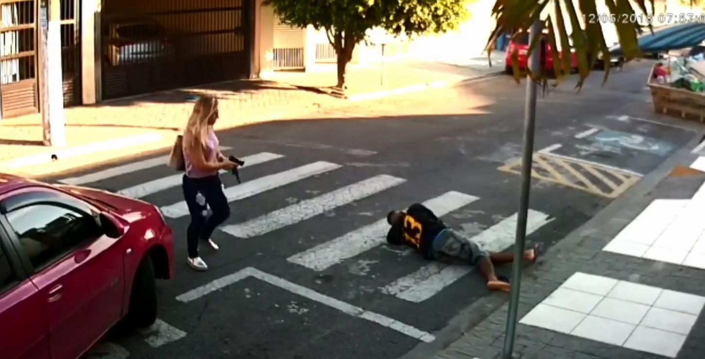 San Paolo, mamma poliziotto uccide rapinatore: premiata dal governatore