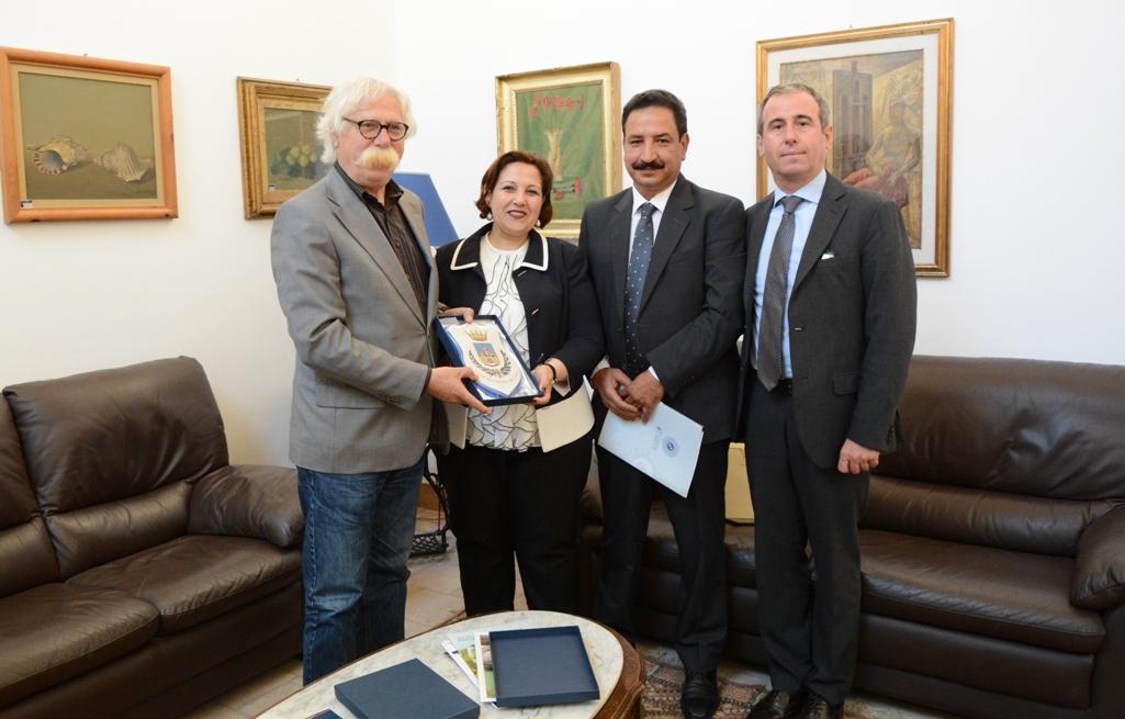 Mazara, Cristaldi riceve Console del Marocco: