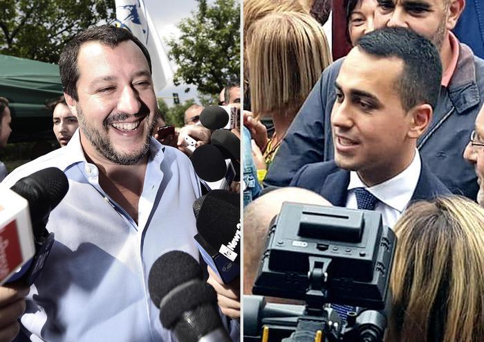 Salvini e Di Maio: 'Spread? dimostrato che non siamo noi il problema'