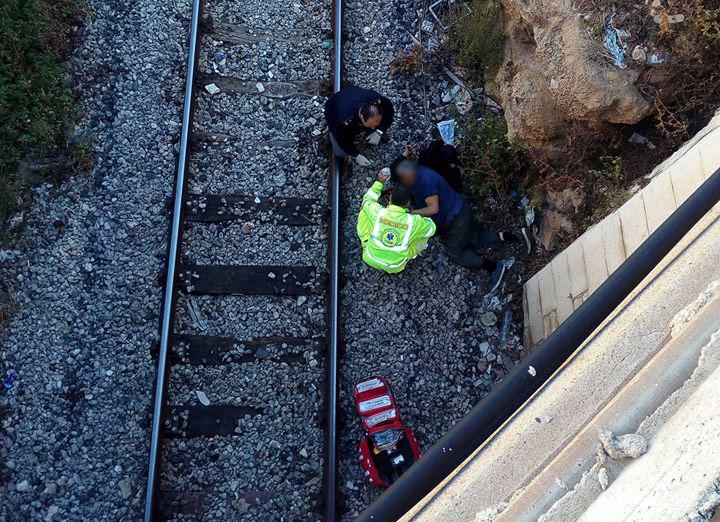 Marsala, uomo soccorso sotto il cavalcavia della linea ferrata. Tentato suicidio?