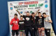 Successo per gli atleti mazaresi di kickboxing a Budapest. Per gli atleti di coach Vaccaro un oro e due argento