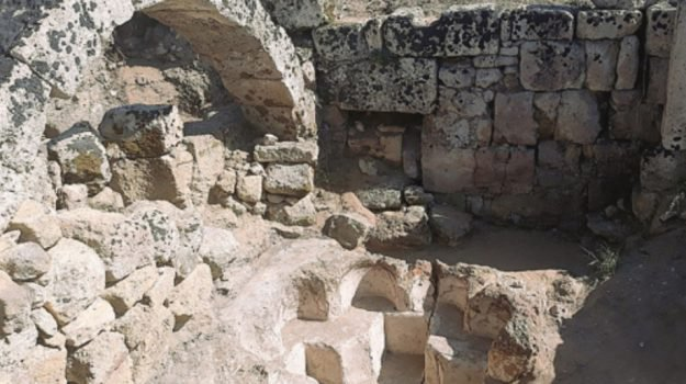 Torna alla luce un battistero paleocristiano a Selinunte