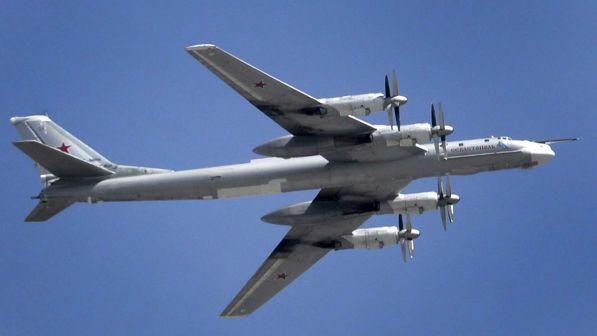 Usa, intercettati due bombardieri russi al largo dell'Alaska