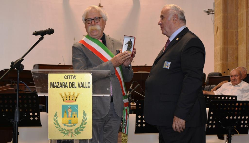 Mazara celebra il 50° anniversario della fondazione del comitato internazionale degli sport amatoriali IVV