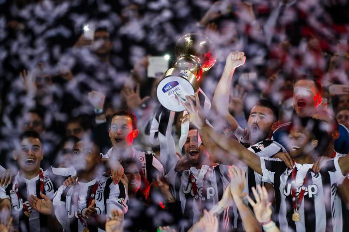 Coppa Italia alla Juventus: Milan battuto 4-0