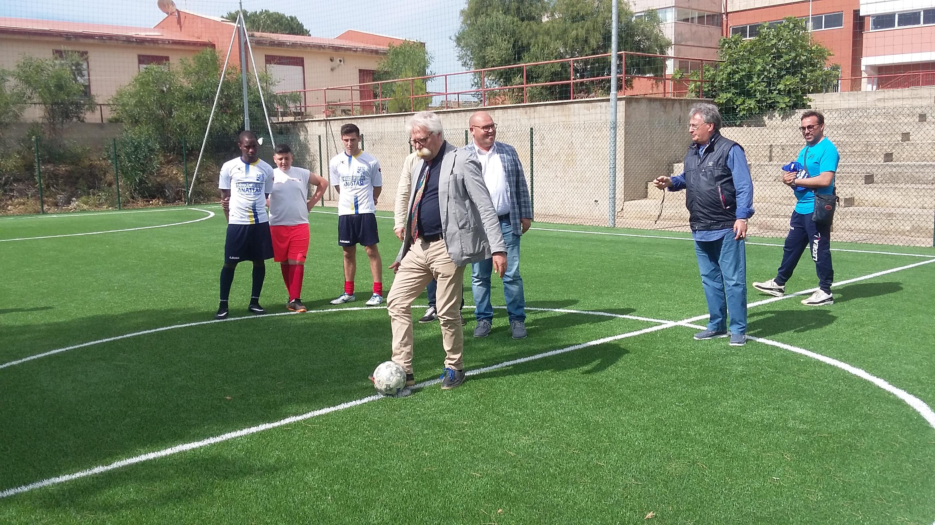Mazara, inaugurati tre nuovi campi da Tennis e Calcio a 5