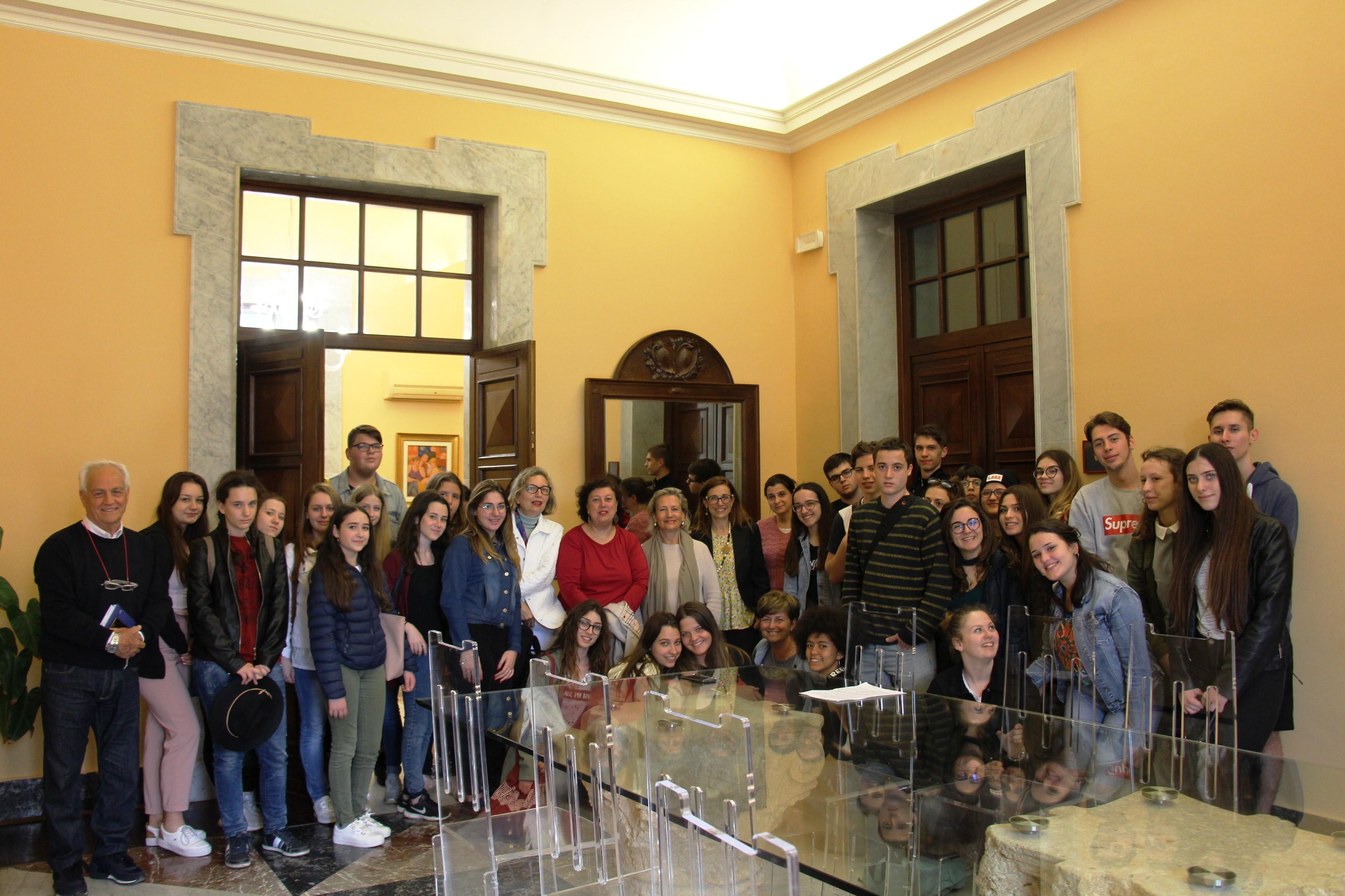 Marsala, studenti ungheresi e del