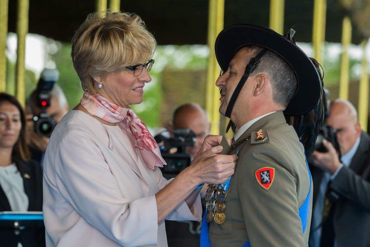 Trapani, Il Colonnello Piccirillo insignito della  Croce d'Argento al Merito dell'Esercito