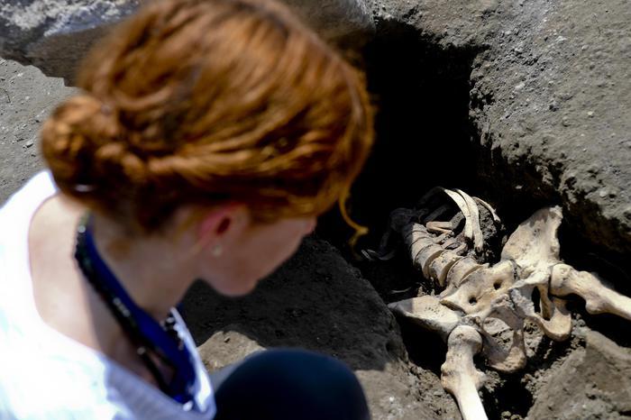 Eccezionale a Pompei, riemerge l'ultimo fuggiasco