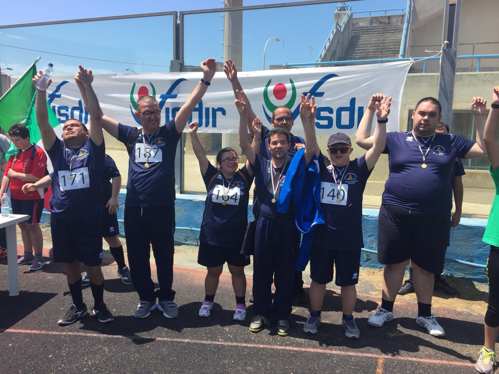 Mazara, l'ASD Paralimpica Domenico Rodolico alla quarta prova del campionato regionale FISDIR di Atletica Leggera