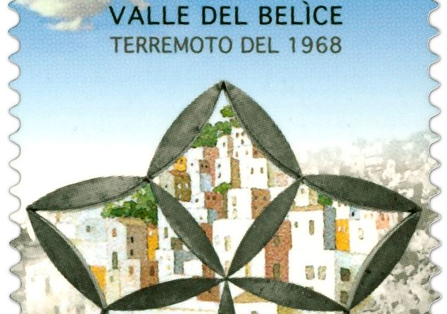 """La """"Stella"""" di Consagra per ricordare i 50 anni del sisma del Belìce. Presentato il francobollo celebrativo"""