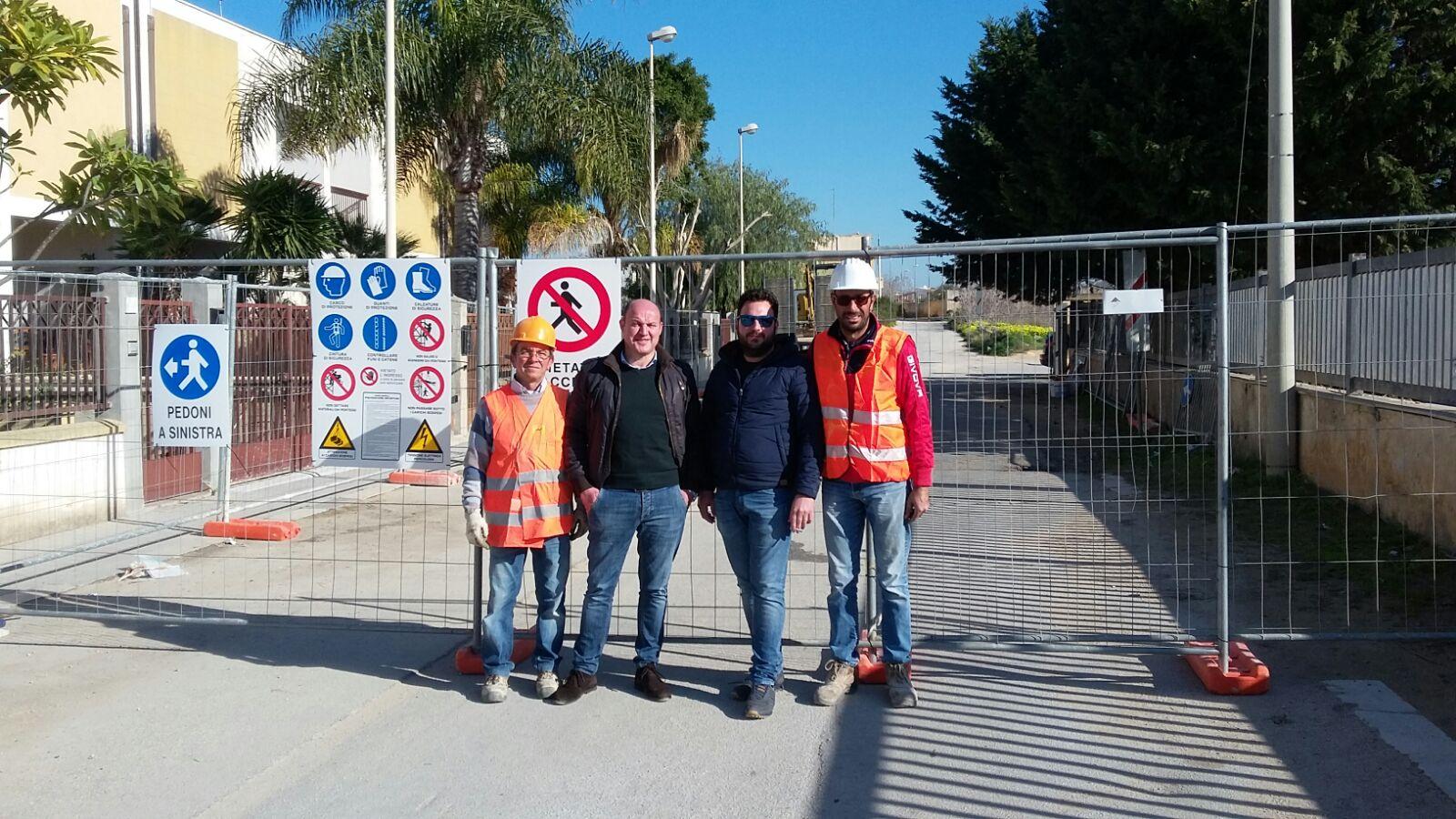 Mazara, Riprendono lunedì 7 Maggio i lavori di un tratto di via Madonie