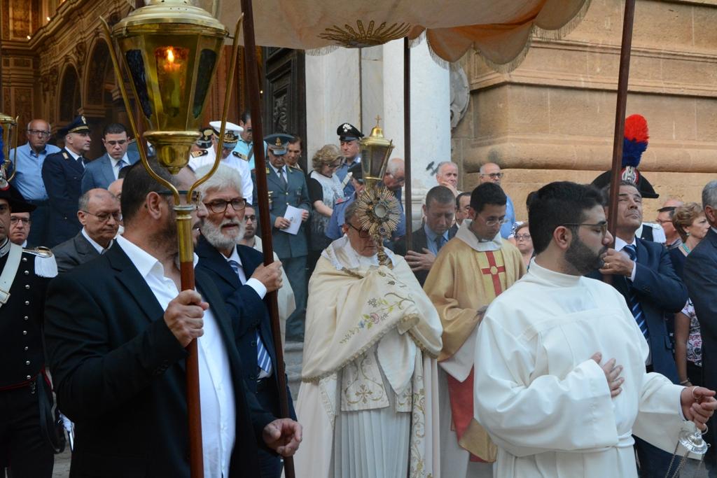 Mazara, CORPUS DOMINI. Ieri celebrazione solenne