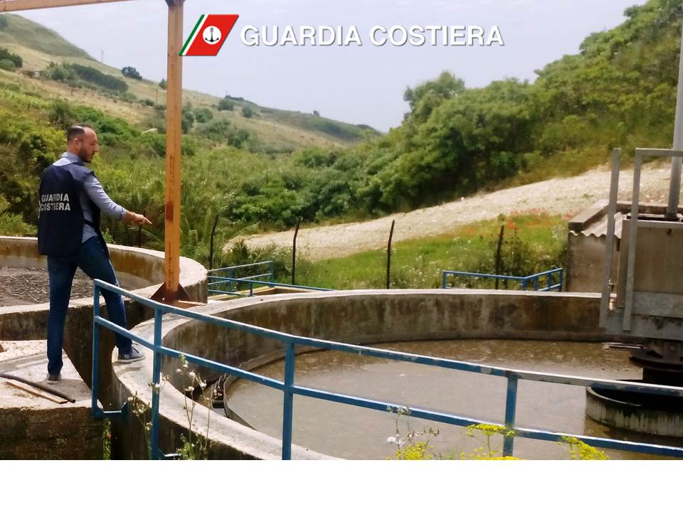 Controlli sui depuratori del compartimento di Mazara in vista dell'estate