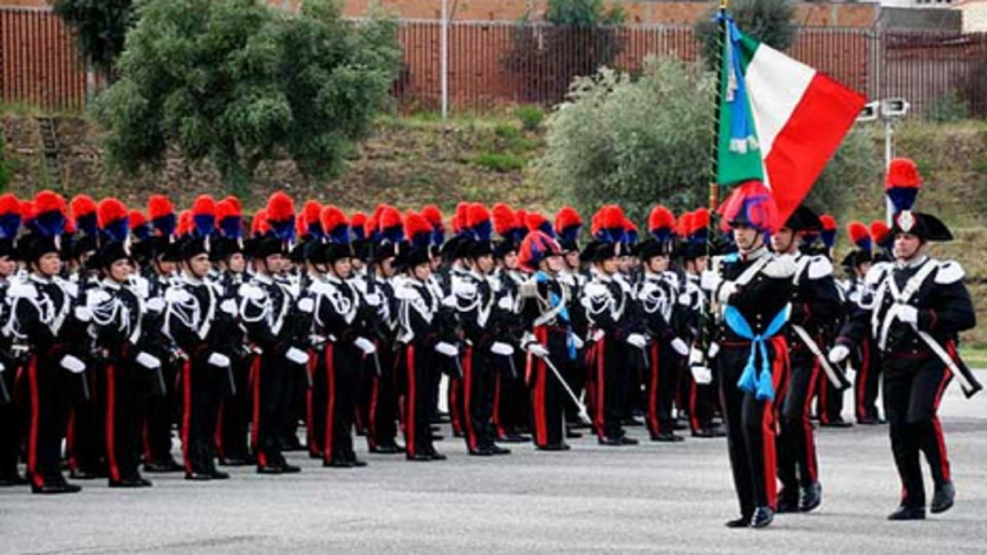 Trapani. Celebrazione del 204° annuale della fondazione dell'arma dei carabinieri