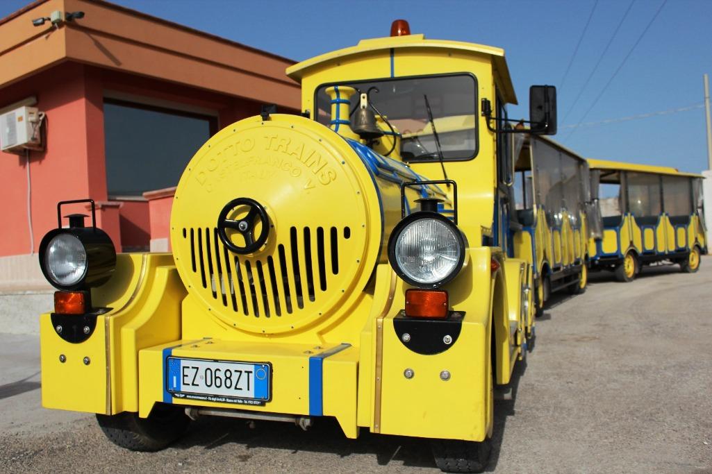 Mazara. Ordinanza della polizia municipale per il servizio di trenino turistico