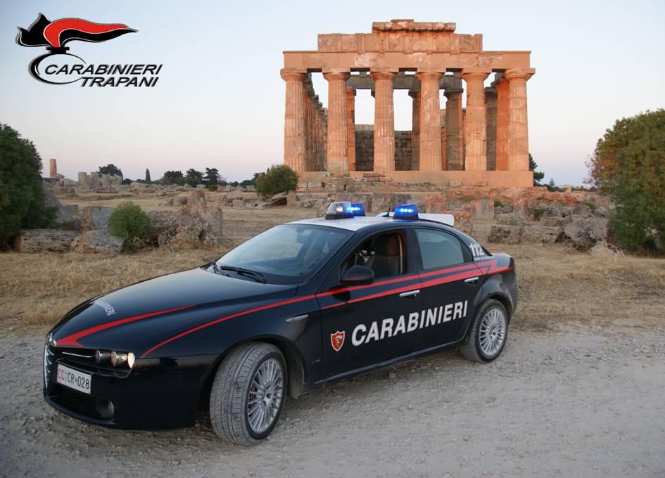 Castelvetrano. Carabinieri effettuano servizio coordinato di controllo del territorio. Due arresti e undici denunce